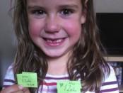 Aufgrund der ernüchternden Resonanz unserer Tochter auf meinen gezogenen Zahn, bebildere ich diese Geschichte lieber mit Mias Trophäen.
